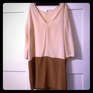 COPY - Silk 2 tone dress